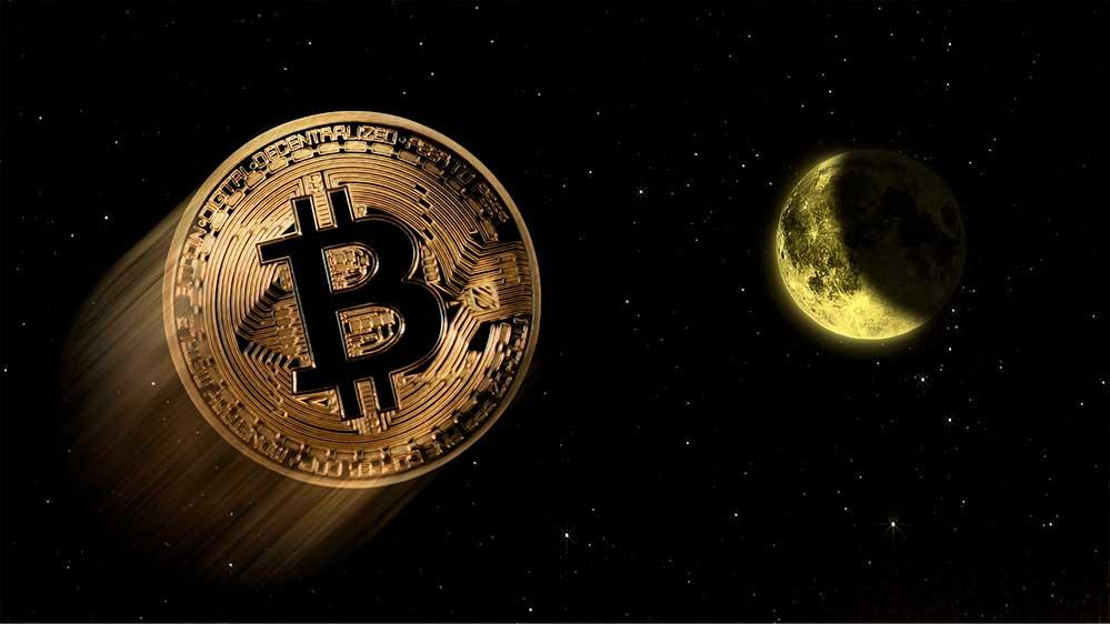 Цена биткоин не собирается останавливаться
