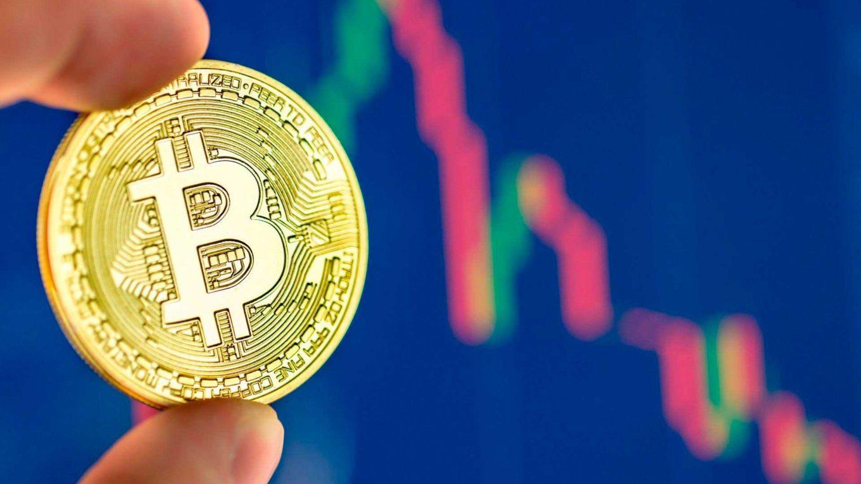 Курс биткоина упал ниже 10000 долларов